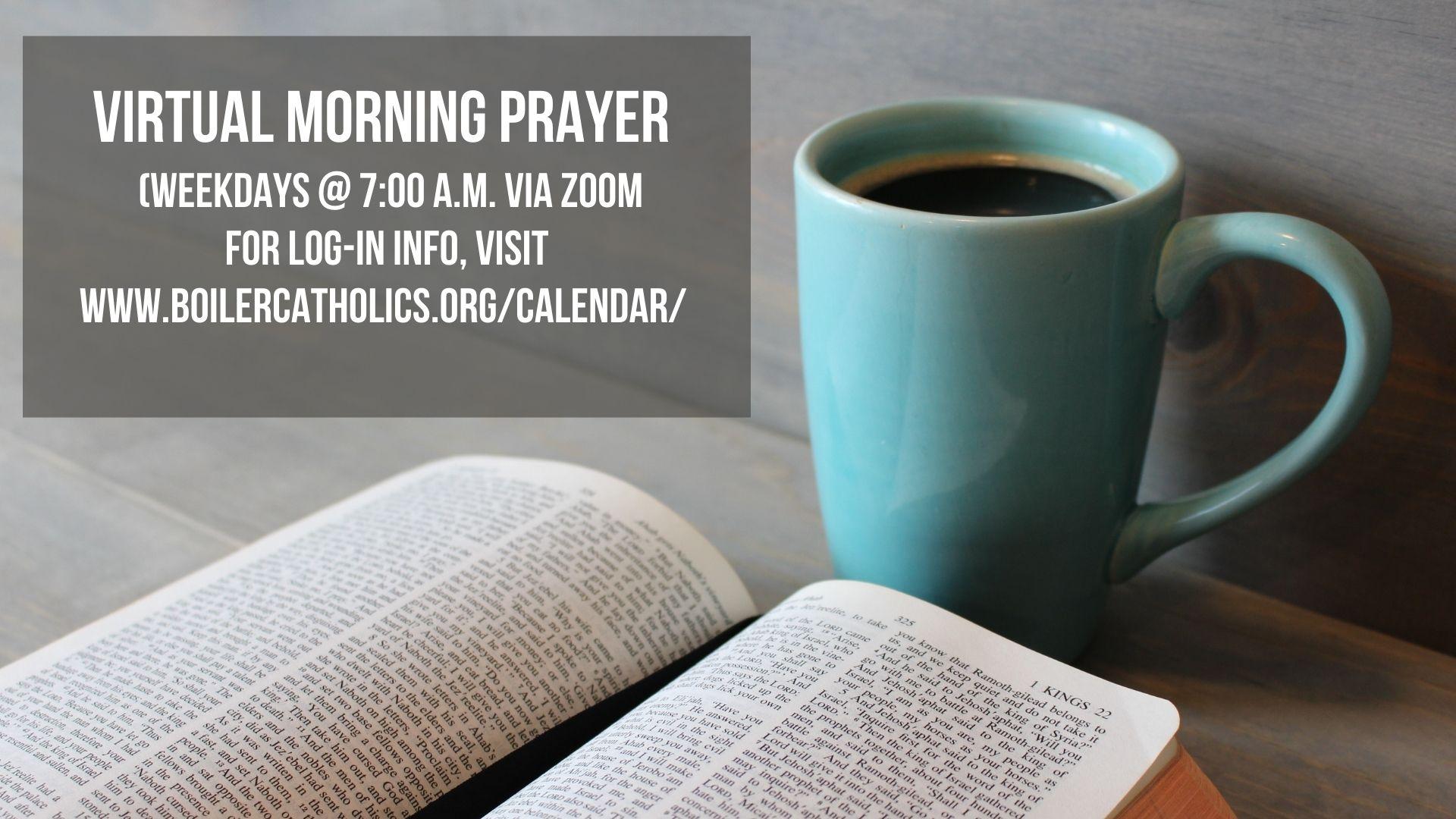 Copy of Morning Prayer