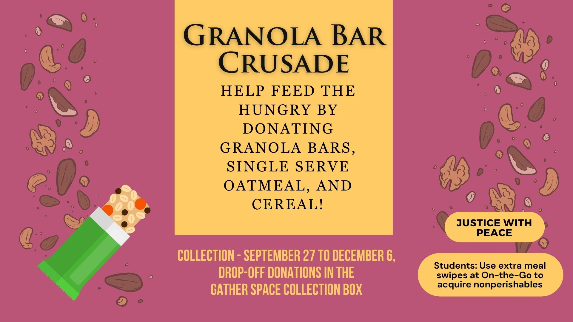 Granola Bar Crusade (Presentation)